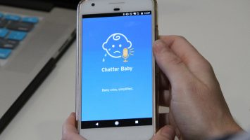 The ChatterBaby app analyzes a baby`s cry to help deaf and hearing impaired parents identify the baby`s needs. Developed at UCLA Semel Institute, the app can determine if a child is crying because they`re in pain with 90 percent accuracy. It can also distinguish cries associated with hunger and general fussiness.