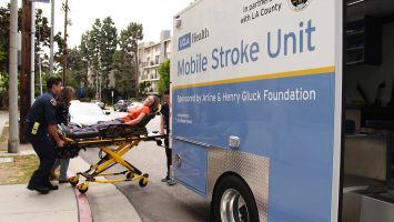 UCLA Health's Mobile Stroke Unit brings the hospital to the patient so doctors can make a diagnosis quickly and start treatment as soon as possible.